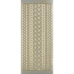 Dazzles Stickers - Platinum Jewel Border