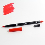 885 Warm Red Tombow Dual Brush Marker