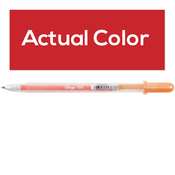 Gelly Roll Glaze Bold Point Pens - Real Red