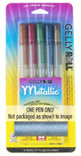 Silver - Gelly Roll Metallic Medium Point Pen