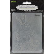 "Easter Bunny - Embossing Folder 4.25""X5.75"""