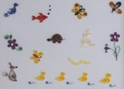 Little Critters - Quilling Kit