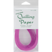 "Cosmic Pink - Quilling Paper .125"" 50/Pkg"