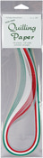 """Holiday (5 Colors) - Quilling Paper .125"""" 105/Pkg"""