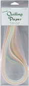 """Parchment (9 Colors) - Quilling Paper .125"""" 108/Pkg"""