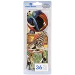 Zoo Paper House Die - Cut Stickers