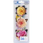 Garden - Paper House Die-Cut Stickers 36/Pkg