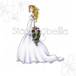 Uptown Girl Brigitte The Bride - Stamping Bella Cling Rubber Stamp