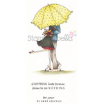 Emily & Ryan Under The Umbrella - Stamping Bella Cling Rubber Stamp