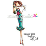 Uptown Girl Opal The Optimist - Stamping Bella Cling Rubber Stamp