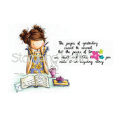 Uptown Girl Jayden Love To Journal - Stamping Bella Cling Rubber Stamp