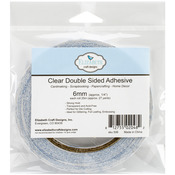 "1/4""X27yd - Elizabeth Craft Clear Double-Sided Adhesive Roll 6mm"