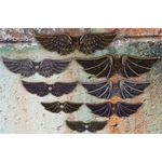 Winged Mechanicals Metal Embellishments - Prima