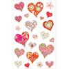Dazzling Hearts Stickers - Mrs. Grossman's