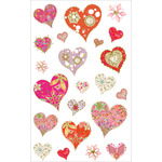 Dazzling Hearts Stickers - Mrs. Grossman's