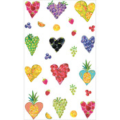Fruitful Hearts Stickers - Mrs. Grossman's