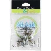 Metallic Anchor - Eyelet Outlet Shape Brads 12/Pkg