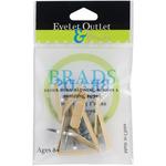 Bandaid - Eyelet Outlet Shape Brads 12/Pkg