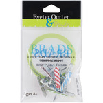 Candle - Eyelet Outlet Shape Brads 12/Pkg