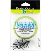 Mini Spider - Eyelet Outlet Shape Brads 12/Pkg