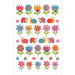 "Ladybug Garden - Foil Fun Stickers 5.5""X8.25"" Sheet"