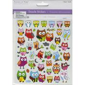Pretty Owls - Dazzle Creature Pals Stickers