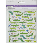 "Gators - Dazzle Creature Pals Stickers 6""X6.5"" Sheet"