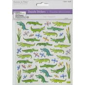 "Gators - Dazzle Creature Pals Stickers 6""X6.5"" Sheet"