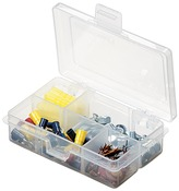 "4.625""X3.375""X1.25"" Translucent - ArtBin Solutions Box 4-6 Compartments"
