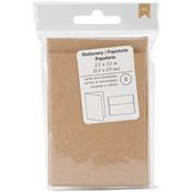 """Kraft - American Crafts Cards & Envelopes 2.5""""X3.5"""" 8/Pkg"""