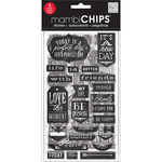 Chalk- It's A New Day - Chipboard Value Pack