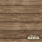 "Mix The Media Wooden Plank Plaque - 10""X10"""