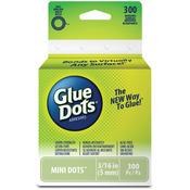 300 Clear Dots - Glue Dots .1875 Mini Dot Roll