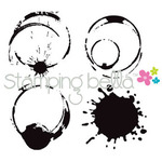 Java Spills - Stamping Bella Cling Rubber Stamp