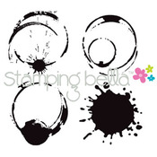 Java Spills - Stamping Bella Cling Rubber Stamp