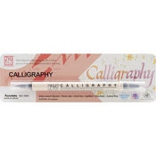 Pure Black - Zig Calligraphy Dual-Tip Marker (Packaged)