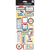 Washi Tape Sports - Sayings Stickers