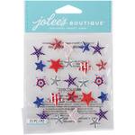 Patriotic Stars - Jolee's Boutique Dimensional Stickers