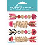 Heart Arrows - Jolee's Boutique Dimensional Stickers
