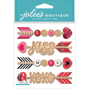 Heart Arrows - Jolee's Boutique Dimensional Stickers