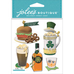 St. Paddy's Day Food & Drink - Jolee's Boutique Dimensional Stickers