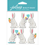 Easter Bunnies - Jolee's Boutique Dimensional Stickers