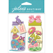 Easter Egg Jars - Jolee's Boutique Dimensional Stickers