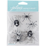 Black & White Spiders - Jolee's Boutique Dimensional Stickers