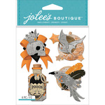 Vintage Metallic Charms - Jolee's Boutique Dimensional Stickers