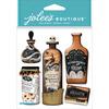 Vintage Bottles & Labels - Jolee's Boutique Dimensional Stickers