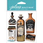 Vintage Bottles & Labels - Jolee's Boutique Dimensional Stickers