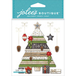 Holiday Tree & Gifts - Jolee's Boutique Dimensional Stickers