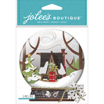 Snow Globe Scene - Jolee's Boutique Dimensional Stickers