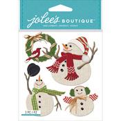 Snowmen - Jolee's Boutique Dimensional Stickers